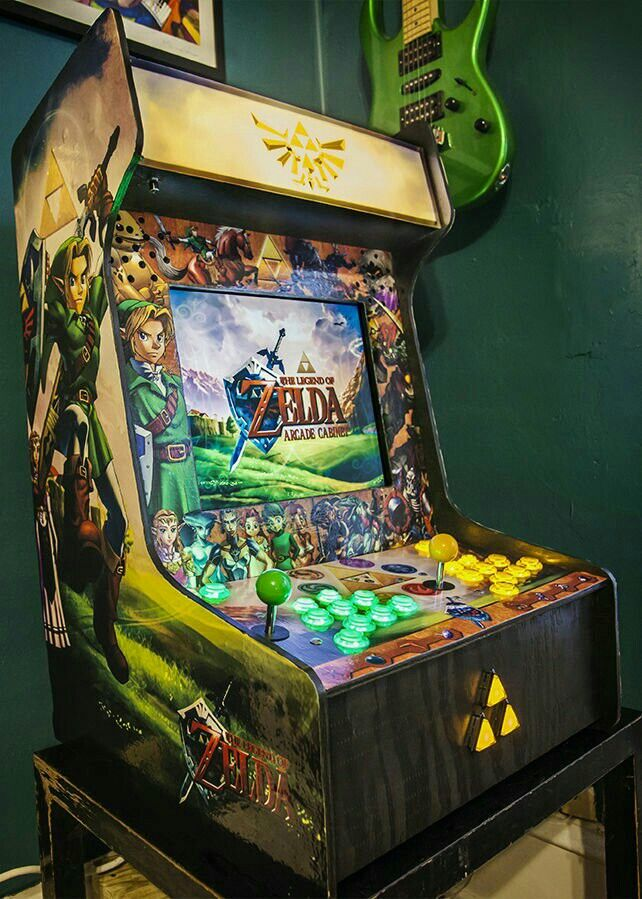 Instructables -Zelda Bar Top Arcade with Raspberry Pi!!!