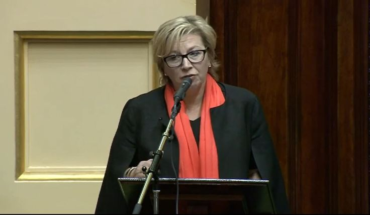 The 2015 Australian of the Year, Rosie Batty addressed the Victorian Parliament at a special sitting held on 26 November 2015.