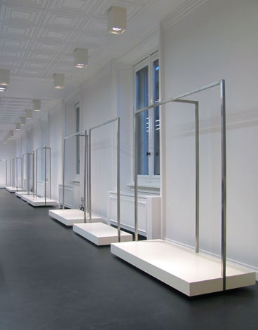 Pinko showroom in Milan, 2010,  by CLS architects_
