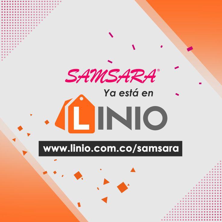Recuerda que nuestros productos ya están disponibles a través de @LinioColombia. >>> Ingresa hoy mismo a http://www.linio.com.co/samsara y haz tu pedido.