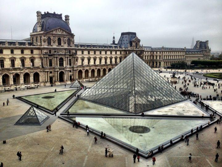 Musée du Louvre en Paris, Île-de-France