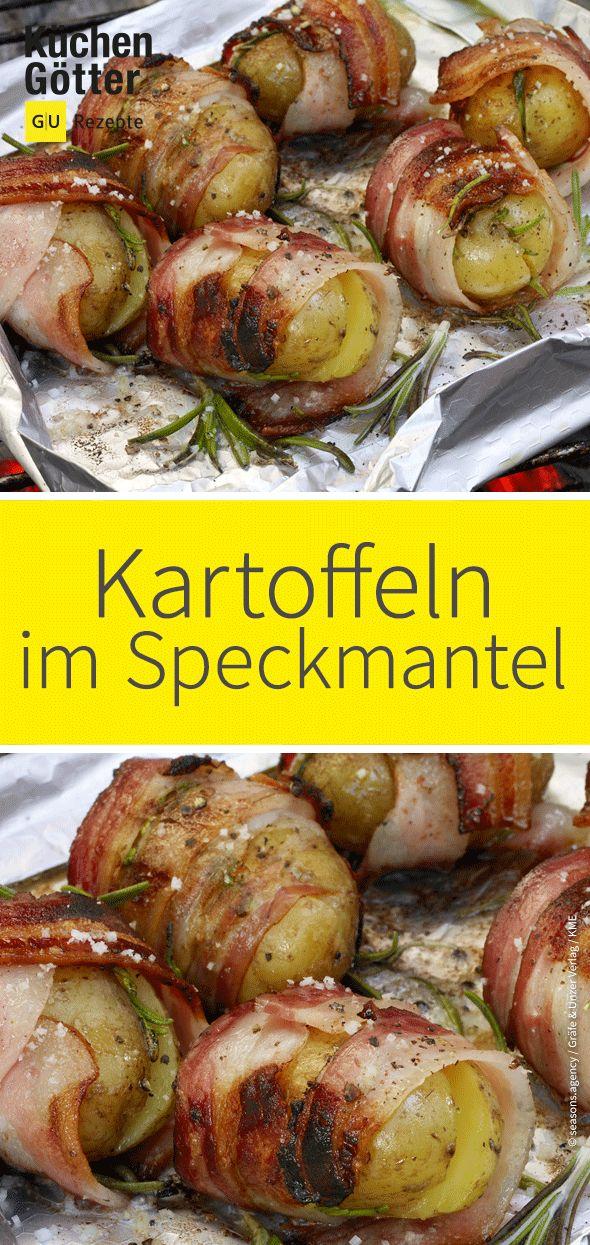 Kartoffeln im Speck-Rosmarin-Mantel