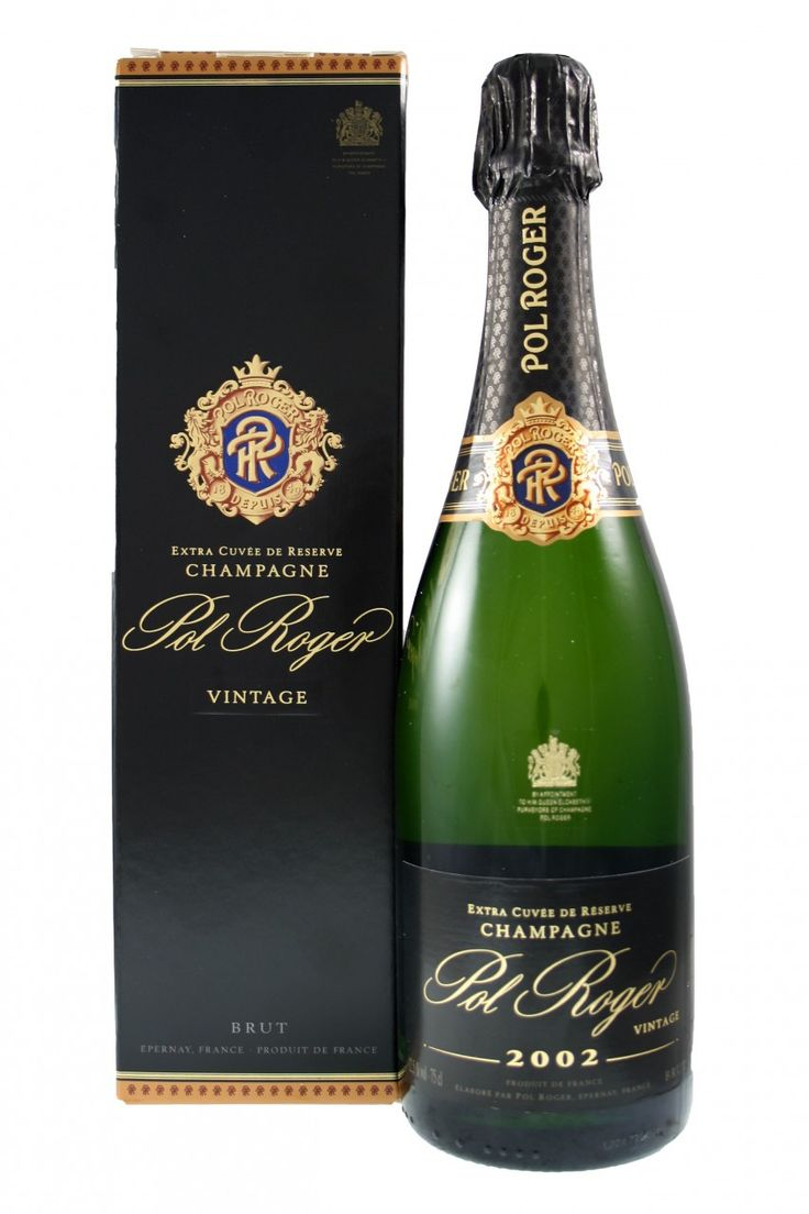 Pol Roger Brut Vintage 2002 Pol Roger Champagne from Fraziers Wine Merchants