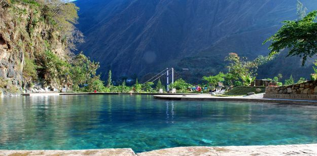 Peru-Santa Teresa Thermal Pool