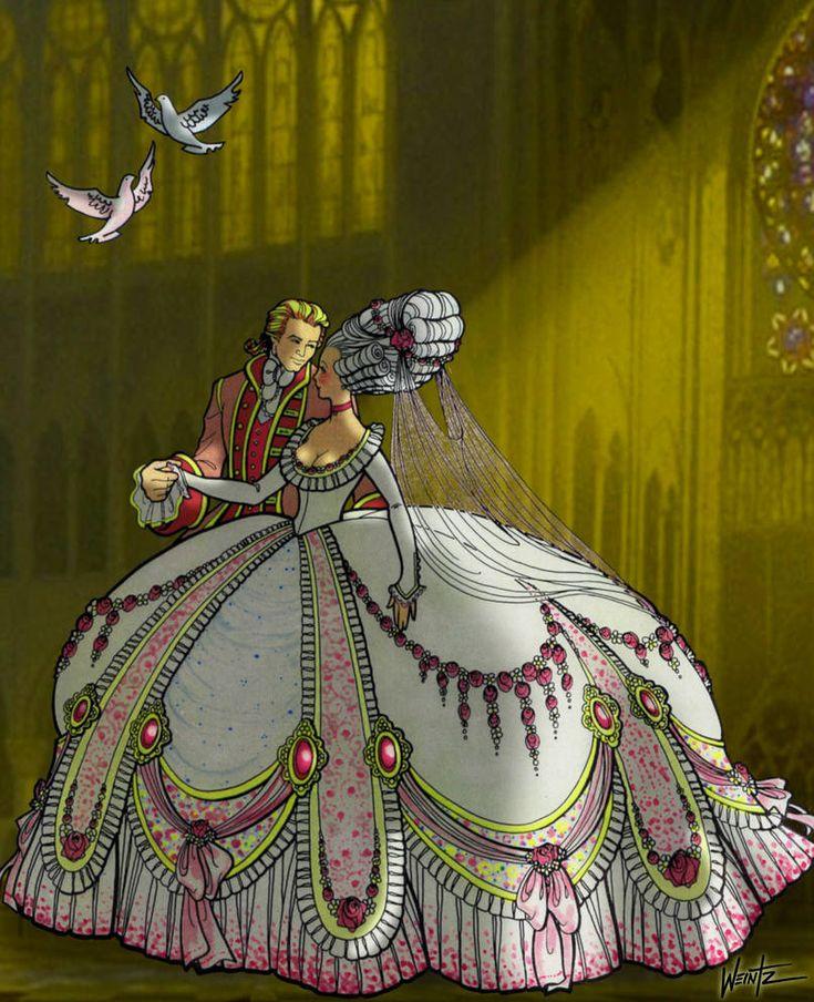 Cinderella's Wedding Day by snowsowhite Cinderella art