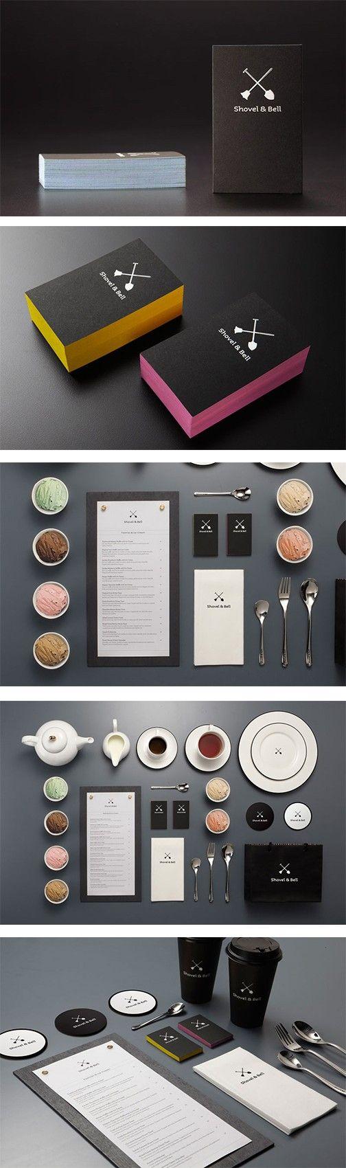 Shovel & Bell | #stationary #corporate #design #corporatedesign #identity #branding #marketing < repinned by www.BlickeDeeler.de | Take a look at www.LogoGestaltung-Hamburg.de
