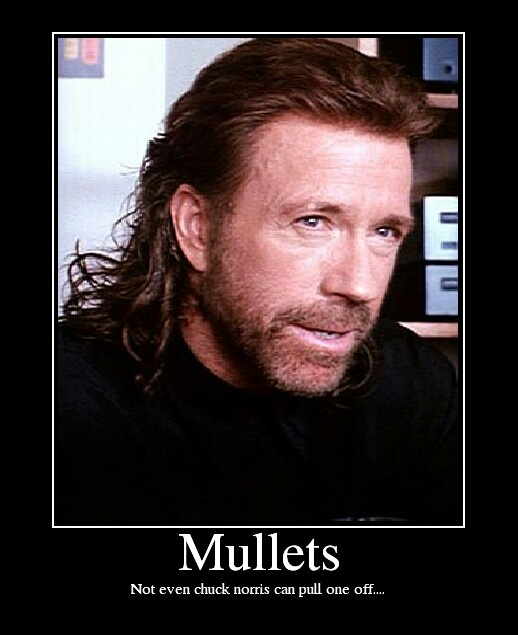 Chuck Norris mullet | The Hair Up There | Pinterest