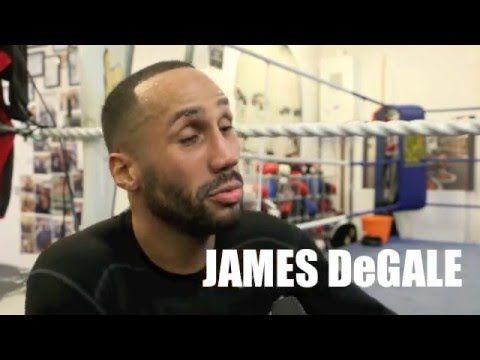 JAMES DeGALE ON FRUSTRATION OF NOT FIGHTING IN UK, TALKS ROGELIO MEDINA ...