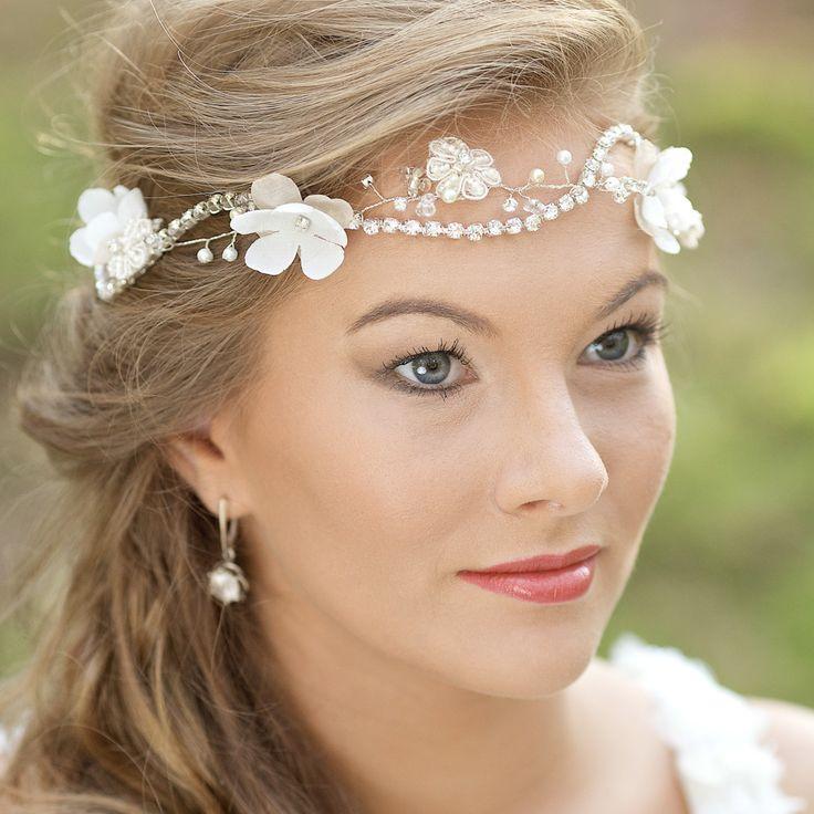 Crown Wreath Hair vine Headband l Floral Hair vine