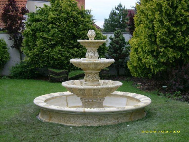 Realizácie   Andromeda - záhradné krby, fontány, kvetináče