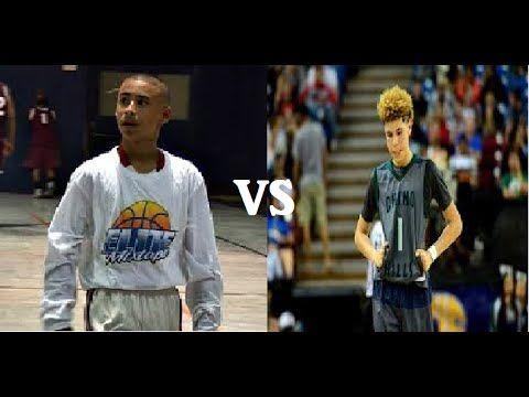 Julian Newman VS LaMelo Ball   15 year old Basketball Prospects