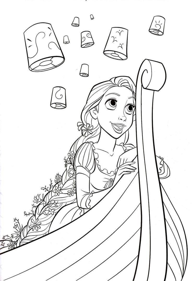 Nautical Coloring Pages To Download And Print For Free · Tangled