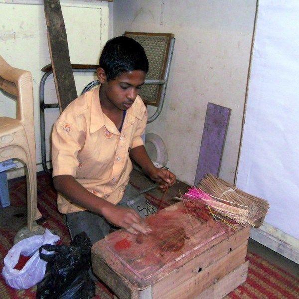 Incense hand made