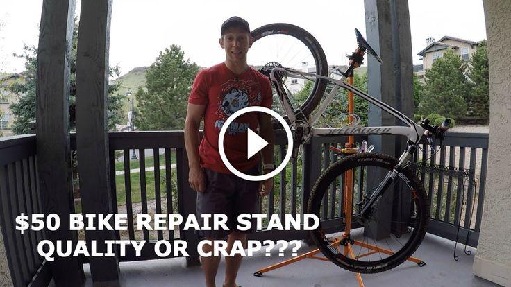 Watch: The $50 Bike Repair Stand - Quality or Crap? - Singletracks Mountain Bike News