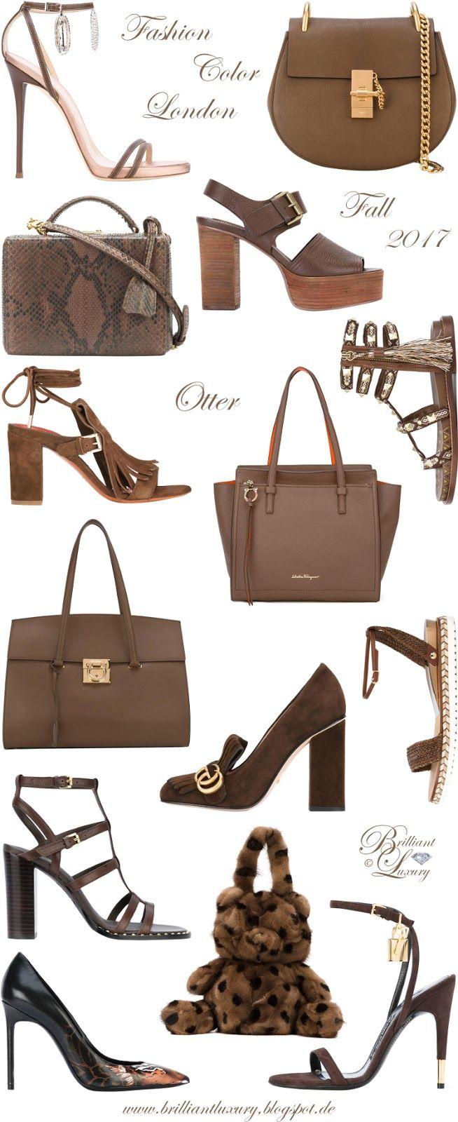 Brilliant Luxury ♦ Fashion Color Fall 2017 ~ otter