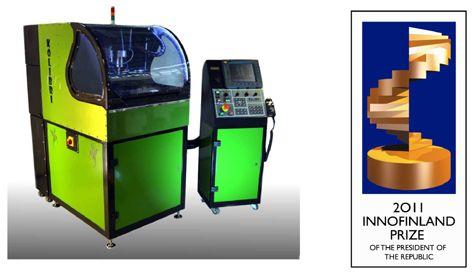 La pequeña pero poderosa fresadora Kolibri, disponible ahora en España