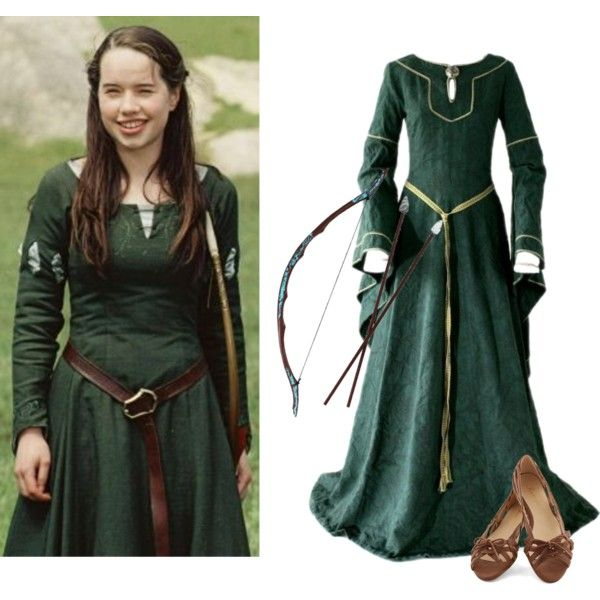 A fashion look from October 2014 featuring lace up ballet flats, purple halloween costumes and green halloween costumes. Browse and shop related looks.
