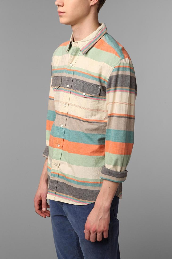 Salt Valley Nada Stripe Western Shirt Stripes
