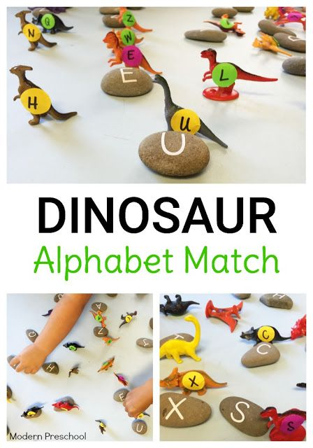 Expose young preschoolers and even kindergarteners to uppercase (and even lowercase) letters of the alphabet with this dinosaur egg matching activity! Perfect for a dinosaur theme and easy to prep!