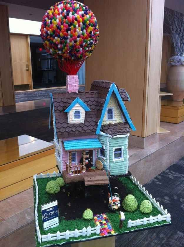 """This heartbreakingly cute """"Up"""" house. 