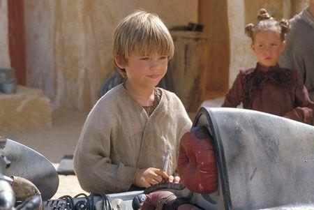 The Phantom menace - Jake Lloyd [Anakin Skywalker] building his Podracer