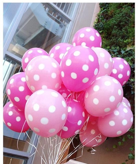 "12""  Wedding Latex Balloon Supplies Thickening Birthday Party  Polka Dot Balloon 300PCS/LOT Wholesale US $75.90"