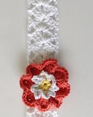Click the banners below for more of our most popular patterns, available via mail or download!  Easy Head Band Easy Skill  Size:To fit average women's size h