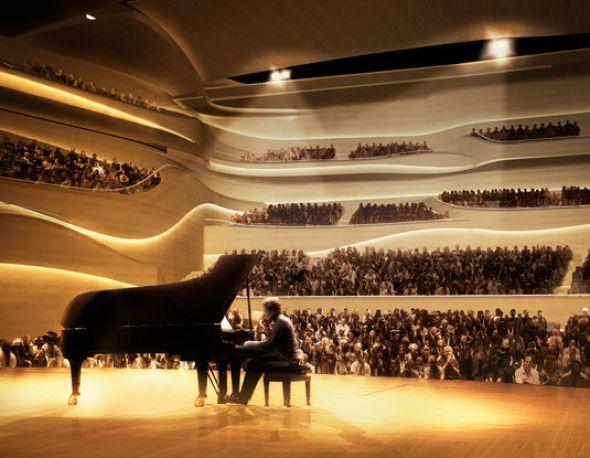 La propuesta de 3XN para el National Concert Hall de Dublín es una muestra escultórica que crea una magnífica casa nueva para la música, mientras que también proporciona un marco para el contexto histórico en que la nueva sala de conciertos se sienta.
