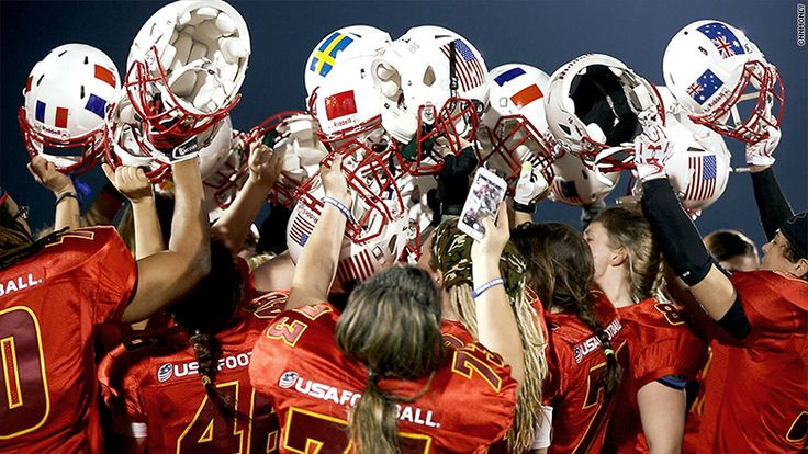 Inside the world of women's tackle football
