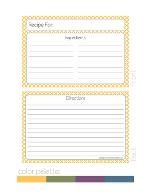 330 best Printable Recipe Cards images on Pinterest Tags, Books - index card template