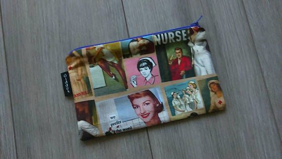 Check out this item in my Etsy shop https://www.etsy.com/ca/listing/569380784/night-nurse-bag-night-nurse-print-pouch