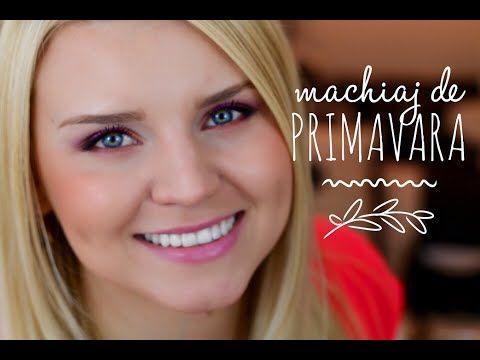 ❀ Machiaj de Primavara ❀ Tutorial - YouTube