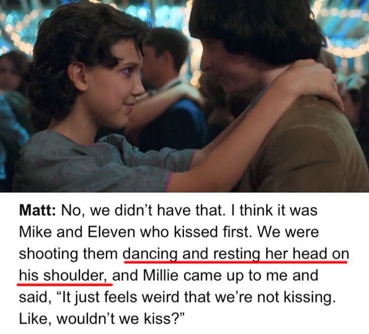 """7,916 Likes, 70 Comments - liza (@finnywheeler) on Instagram: """"so we never got a shot of el dancing while resting her head on mikes shoulder...the duffers are…"""""""