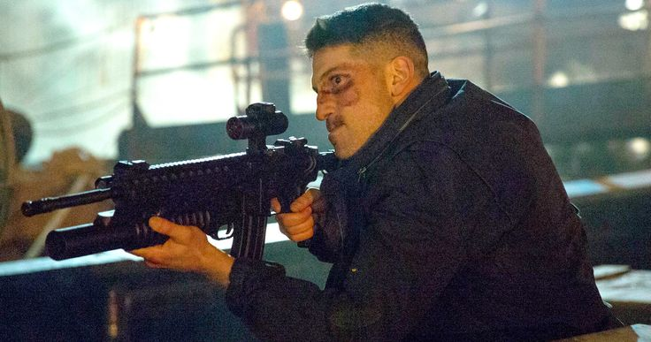 Punisher Netflix Series Begins Shooting, First Set Photos Emerge -- A bearded Jon Bernthal is spotted as Frank Castle on the set of The Punisher Netflix series. -- http://tvweb.com/punisher-netflix-series-marvel-production-start-set-photos/