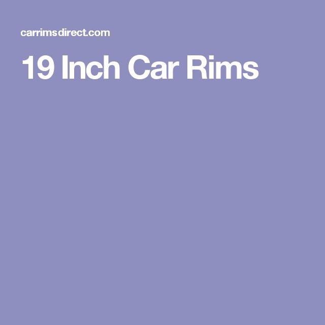 19 Inch Car Rims
