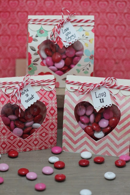 My Craft Spot: DT Post by Gwen - Valentine Treat bags
