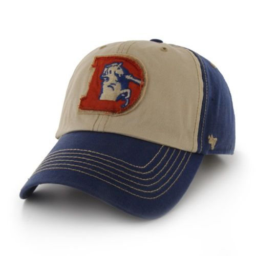 Denver Broncos 47 Brand NFL Yosemite Vintage Wash Adjustable Hat - Royal
