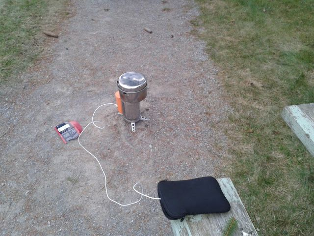 Blundering Bushcraft: Biolite Stove: Review