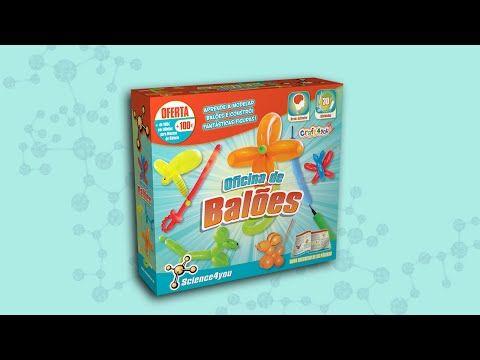 Brinquedos Science - Oficina de Balões | Science4you