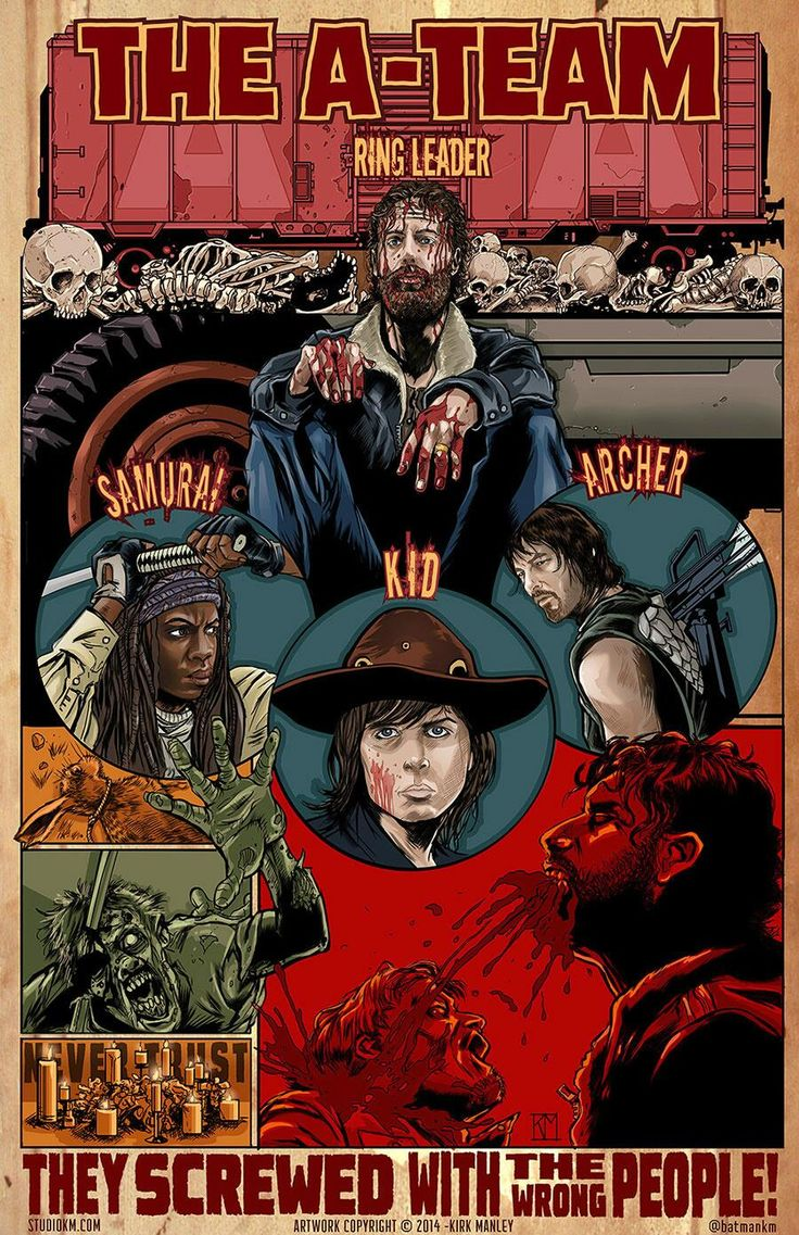 @Nerdist Industries & @AMCTalkingDead check out my tribute art for TWD season 4 finale. Talking Dead ROCKED this season! pic.twitter.com/7URRCJmnXi