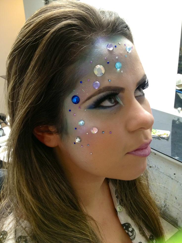 Mermaid makeup!!