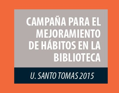 "Check out new work on my @Behance portfolio: ""Campaña Biblioteca USTA"" http://on.be.net/1BHvDor"