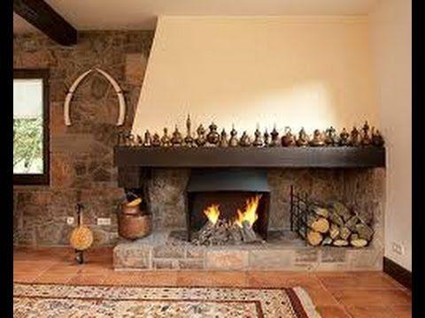 Estufas de le a hogar chimeneas chimeneas pinterest for Estufas a lena rusticas