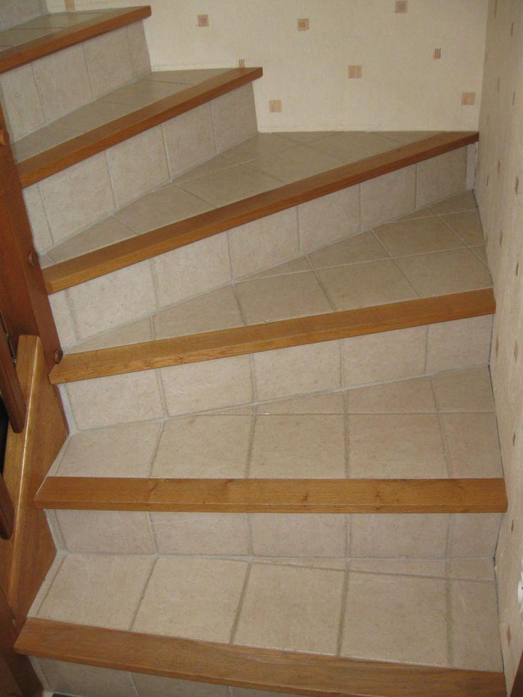 25 b sta escalier tournant id erna p pinterest for Carreler des marches d escalier