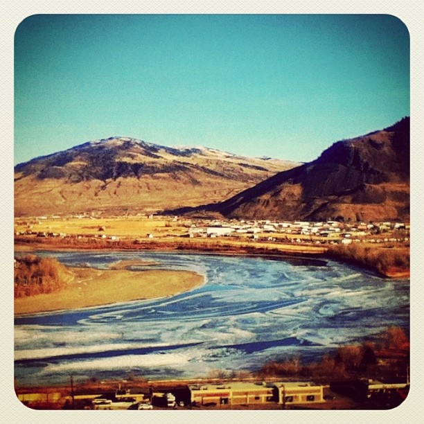 Beautiful #Kamloops, BC view. For info about the area, see http://platinumrealestateteam.com/