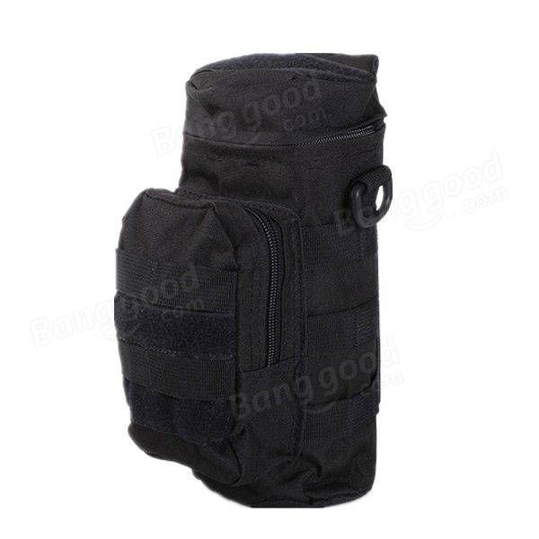 IPRee tático ao ar livre viajar utilitário água garrafa saco bolsa bolsa de escalada camping caminhadas