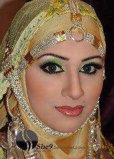Bridal Hijab (Arab Hijab Designs)