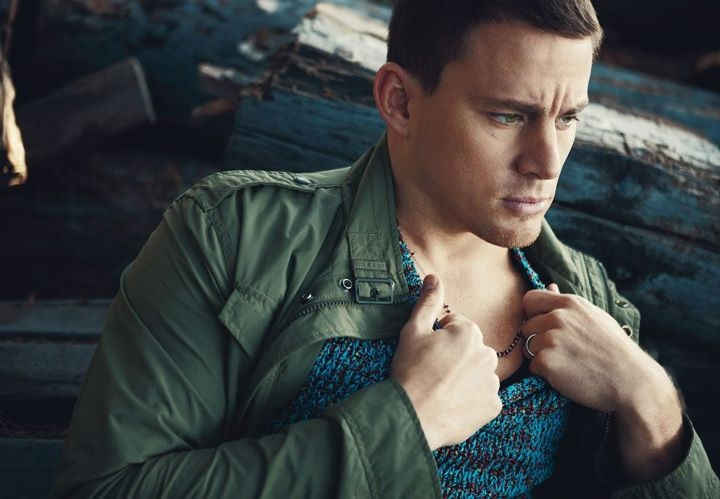 THE VOW star Channing Tatum in DETAILS Magazine.