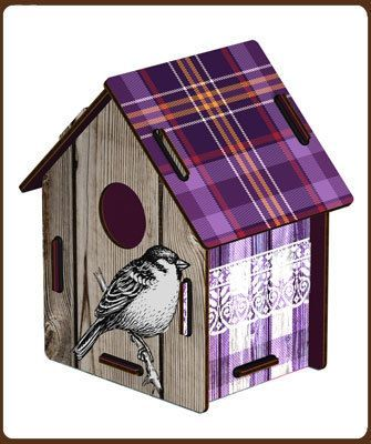 Miho: Bird house - Morning frost: