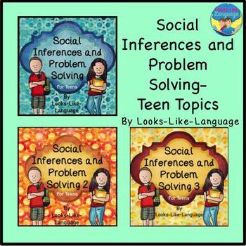 Social Skills Teen Activity Bundle: Idioms, Body Language,